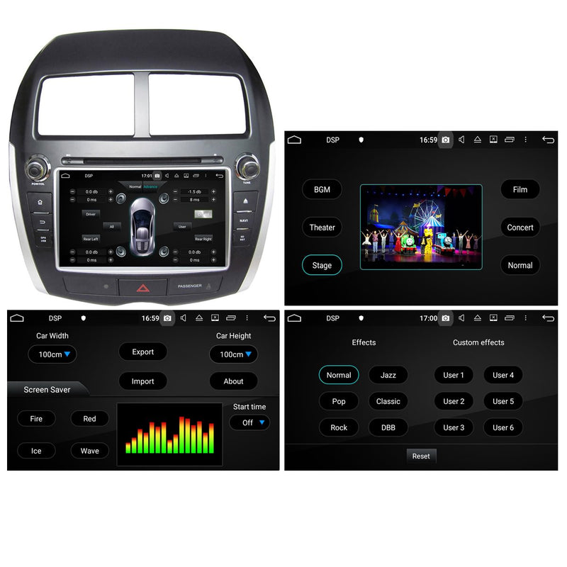8'' Touchscreen Android 10 OS Autoradio Stereo for Citroen C4 Aircross 2010 2011 2012 2013 2014 2015 2016. Octa Core 1.5G CPU 32G Flash 4G DDR3 RAM. 2 Din Car Radio GPS Navigation 3G 4G WIFI Bluetooth USB/SD DVD Player DSP Carplay Auto Steering Wheel Control OBD2. Plug&Play Double Din Vehicle Multimedia System Head Unit.