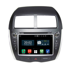 8 inch Touchscreen Android 10.0 Autoradio Stereo for Mitsubishi RVR ASX Outlander Sport 2010 2011 2012 2013 2014 2015 2016 2017. Octa Core 1.5G CPU 32G Flash 4G DDR3 RAM. 2 Din Car Radio GPS Navigation 3G 4G WIFI Bluetooth USB/SD DVD Player DSP Carplay Auto Steering Wheel Control OBD2. Plug and Play Double Din Vehicle Multimedia System Head Unit