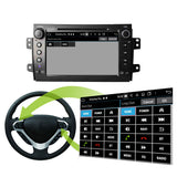 8'' Touchscreen Android 10 Autoradio Stereo for Fiat Sedici 2006 2007 2008 2009 2010 2011 2012 2013. Octa Core 1.5G CPU 32G Flash 4G DDR3 RAM. 2 Din Car Radio DVD Player GPS 3G 4G WIFI Bluetooth USB/SD DVD Player DSP Carplay Auto Steering Wheel Control OBDII. Plug and Play Double Din Vehicle Multimedia System Head Unit