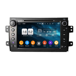 8 inch Touchscreen Android 9.0 OS Car DVD Player for Fiat Sedici(2006-2013), Octa Core 1.5G CPU 4G DDR3 RAM 32G Flash, Auto Radio GPS Navigation Bluetooth 4G WIFI OBDII MirrorLink Headunit - foyotech
