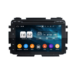 8 inch Touchscreen Android 9.0 OS Car Radio for Honda HRV/Vezel(2014-2020), Octa Core 1.5G CPU 4G DDR3 RAM 32G Flash, Auto DVD Player GPS Navigation Bluetooth 4G WIFI OBDII MirrorLink Headunit - foyotech