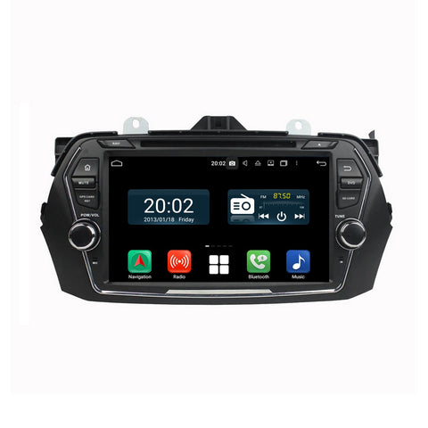 8 inch Touchscreen Android 10 Autoradio Stereo for Suzuki Ciaz 2015 2016 2017 2018 2019 2020. Octa Core 1.5G CPU 32G Flash 4G DDR3 RAM. 2 Din Car Radio DVD Player GPS Navigation 3G 4G WIFI Bluetooth USB/SD DVD Player DSP Carplay Auto Steering Wheel Control OBDII. Plug and Play cable Double Din Vehicle Multimedia System Head Unit