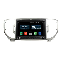 8 inch Touchscreen Android 10 Autoradio Stereo for Kia Sportage 2016 2017 2018 2019. Octa Core 1.5G CPU 32G Flash 3G 4G DDR3 RAM. 2 Din Car Radio GPS Navigation 3G 4G WIFI Bluetooth USB/SD DVD Player DSP Carplay Auto Steering Wheel Control OBDII. Plug and Play Double Din Vehicle Multimedia Player System Head Unit.