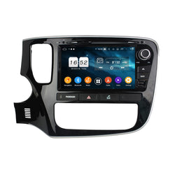 8 inch Touchscreen Android 9.0 OS Car Radio for Mitsubishi Outlander(2015-2018), Octa Core 1.5G CPU 4G DDR3 RAM 32G Flash, Auto DVD Player GPS Navigation Bluetooth 4G WIFI OBDII MirrorLink Headunit - foyotech