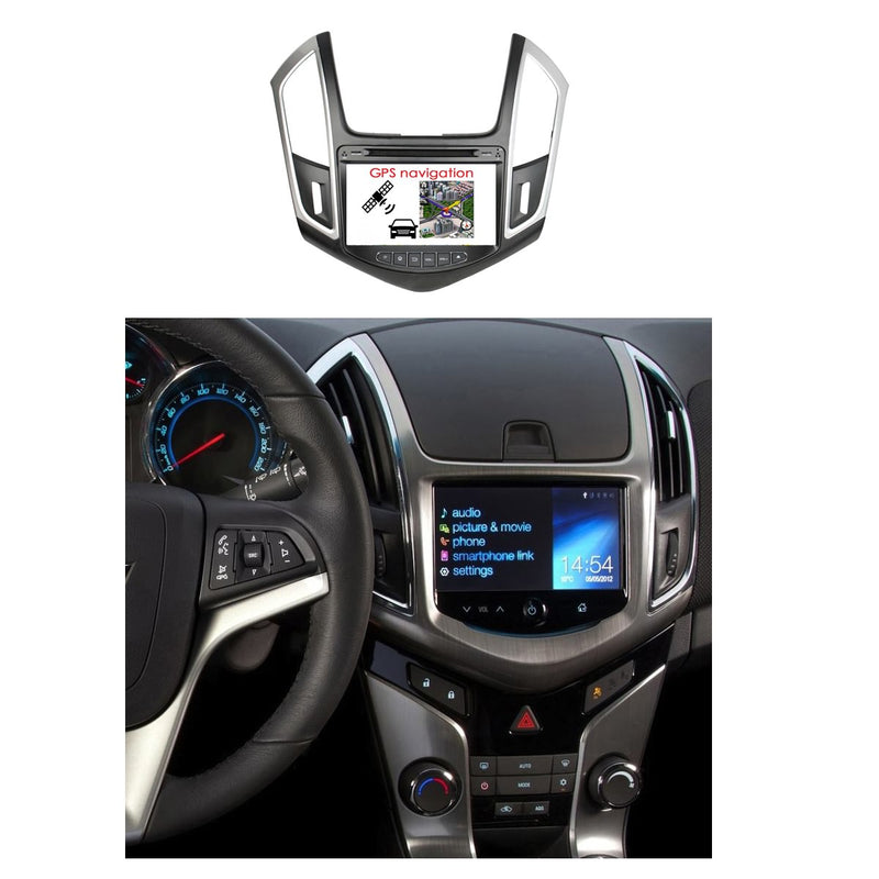 8 inch Touch Screen Android 10 OS Autoradio Stereo Navigation Headunit for Chevrolet Cruze 2015 2016 2017 2018. Octa Core 1.5G CPU 32G Flash 4G DDR3 RAM. 2 Din Auto Radio DVD Player GPS 4G WIFI Bluetooth USB/SD DVD Player MirrorLink Steering Wheel Control OBDII. Double Din Vehicle Multimedia Player System Head Unit.