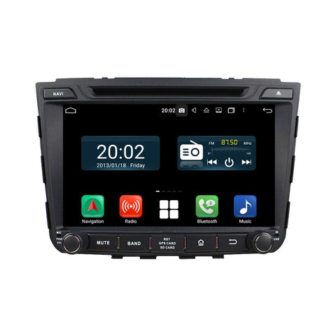 8 inch Touchscreen Android 10 Autoradio Stereo for Hyundai IX25 2014 2015 2016 2017 2018. Octa Core 1.5G CPU 32G Flash 3G 4G DDR3 RAM. 2 Din Car Radio GPS Navigation 3G 4G WIFI Bluetooth USB/SD DVD Player DSP Carplay Auto Steering Wheel Control OBDII. Plug and Play Double Din Vehicle Multimedia Player System Head Unit.