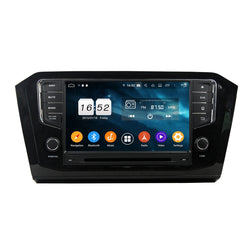 Android 9.0 OS 1 Din Auto Stereo for Volkswagen Passat(2015-2017), Octa Core 1.5G CPU 4G DDR3 RAM 32G Flash, 8 inch Touchscreen Car DVD GPS Navigation Radio Bluetooth 4G WIFI - foyotech