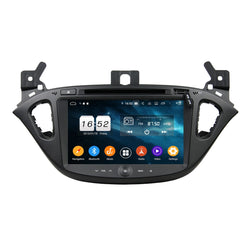 Android 9.0 OS Car DVD Player GPS Navigation for Opel Corsa(2015-2018), 8 Core 1.5G CPU 4G DDR3 RAM 32G Flash, 8 inch Touchscreen Auto Radio Stereo Bluetooth 4G WIFI OBD2 MirrorLink - foyotech