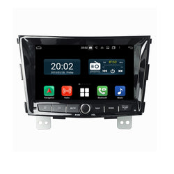 1024x600 Touchscreen Android 10 Autoradio Stereo for SsangYong Tivoli 2014 2015 2016 2017 2018. Octa Core 1.5G CPU 32G Flash 3G 4G DDR3 RAM. 2 Din Car Radio GPS Navigation 3G 4G WIFI Bluetooth USB/SD DSP Carplay Auto Steering Wheel Control OBDII. Plug and Play cable Double Din Vehicle Multimedia Player System Head Unit.