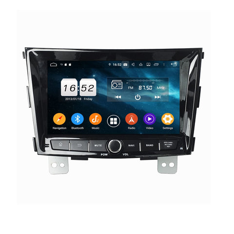 8 inch Android 9.0 OS Car Radio Headunit for SsangYong Tivoli(2014-2018), Octa Core 1.5G CPU 4G DDR3 RAM 32G Flash, Auto GPS Navigation Bluetooth 4G WIFI OBDII MirrorLink - foyotech