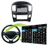 1024x600 Touchscreen Android 10 OS Autoradio Stereo for Hyundai H1 2016 2017 2018 2019 2020. Octa Core 1.5G CPU 32G Flash 3G 4G DDR3 RAM. 2 Din Car Radio GPS Navigation 3G 4G WIFI Bluetooth USB/SD DVD DSP Carplay Auto  Steering Wheel Control OBDII. Plug and Play cable Double Din Vehicle Multimedia Player System Head Unit.