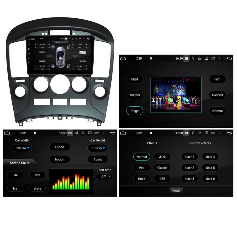Android 10 Double Din 9 Inch 1024x600 Touchscreen Autoradio Headunit for Hyundai Hyundai H1/Starex/IMAX/ILOAD/I800 2006 2007 2008 2009 2010 2011 2012 2013, Octa Core 1.5GB CPU 32GB Flash 4GB DDR3 RAM, Auto Radio GPS Navigation 3G 4G WIFI Bluetooth USB DSP Carplay&Auto Steering Wheel Control. 2Din Vehicle Touch Screen Multimedia Video Player System Head Unit.