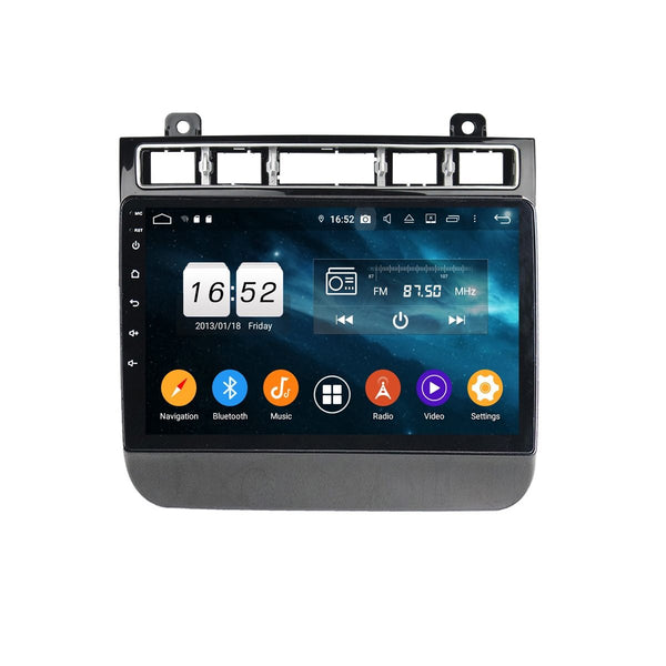 Android 9.0 OS 9 inch Touchscreen Auto Stereo for Volkswagen Touareg(2015-2020), Octa Core 1.5G CPU 4G DDR3 RAM 32G Flash, Car GPS Navigation Radio Bluetooth 4G WIFI - foyotech