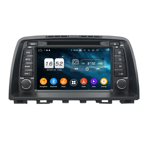 Android 9.0 OS 8 inch Touchscreen Car Radio GPS Headunit for Mazda CX-5(2011-2016), Octa Core 1.5G CPU 4G DDR3 RAM 32G Flash, Auto DVD Player Stereo Bluetooth 4G WIFI OBD2 MirrorLink - foyotech