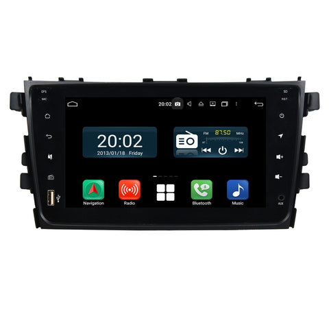 8 inch Touchscreen Android 10 Autoradio Stereo for Suzuki Alto/Celerio/Cultus 2015 2016 2017 2018 2019 2020. Octa Core 1.5G CPU 32G Flash 4G DDR3 RAM. 2 Din Radio Player GPS Navigation 3G 4G WIFI Bluetooth USB DSP Carplay Auto Steering Wheel Control OBDII. Plug and Play Double Din Vehicle Multimedia System Head Unit.