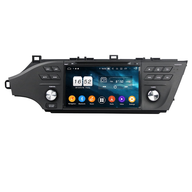 8 inch Touchscreen Android 9.0 OS Car Radio for Toyota Avalon(2015-2018), Octa Core 1.5G CPU 4G DDR3 RAM 32G Flash, Auto DVD Player GPS Navigation Bluetooth 4G WIFI OBDII MirrorLink Headunit - foyotech