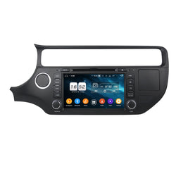 Android 9.0 OS Car GPS Navigation DVD Player for Kia K3/Rio(2015-2020), Octa Core 1.5G CPU 4G DDR3 RAM 32G Flash, 8 inch Touchscreen Auto Radio Bluetooth 4G WIFI OBDII MirrorLink Headunit - foyotech