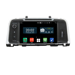 8 inch Touchscreen Android 10 Autoradio Stereo Headunit for Kia K5/Optima 2015 2016 2017 2018 2019 2020. Octa Core 1.5G CPU 32G Flash 3G 4G DDR3 RAM. 2 Din Auto Radio GPS Navigation 3G 4G WIFI Bluetooth USB DSP Carplay Auto Steering Wheel Control OBDII. Plug and Play Double Din Vehicle Multimedia Player System Head Unit.