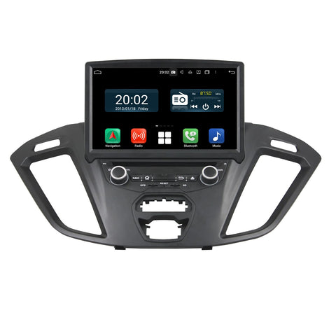 8 inch Android 10 Autoradio Stereo Navigation Headunit for Ford Transit Custom 2016 2017 2018 2019 2020. Octa Core 1.5G CPU 32G Flash 4G DDR3 RAM. 1 Din Auto Radio GPS 4G WIFI Bluetooth USB/SD DVD Player DSP Carplay Auto Steering Wheel Control OBDII. Single Din Vehicle Multimedia Player System Head Unit.