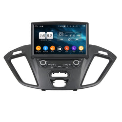 8 inch Android 9.0 OS Car DVD Player GPS Navigation for Ford Transit Custom(2016-2018), Octa Core 1.5G CPU 4G DDR3 RAM 32G Flash, Auto Radio Stereo Bluetooth 4G WIFI OBD2 MirrorLink - foyotech