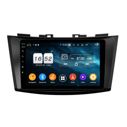 8 inch Touchscreen Android 9.0 OS Car Radio Headunit for Suzuki Swift(2011-2017), 8 Core 1.5G CPU 4G DDR3 RAM 32G Flash, Auto GPS Navigation Stereo Bluetooth 4G WIFI OBDII MirrorLink - foyotech