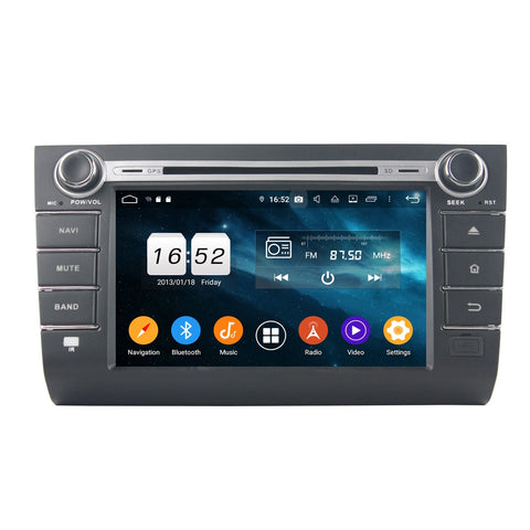 8 inch Android 9.0 OS Car Radio DVD Headunit for Suzuki Swift(2006-2010), 8 Core 1.5G CPU 4G DDR3 RAM 32G Flash, Touchscreen Auto GPS Navigation Stereo Bluetooth 4G WIFI OBDII MirrorLink - foyotech