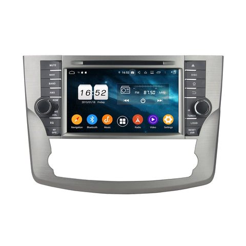8 inch Touchscreen Android 9.0 OS Car Stereo for Toyota Avalon(2011-2014), Octa Core 1.5G CPU 4G DDR3 RAM 32G Flash, Auto Radio DVD Player GPS Navigation Bluetooth 4G WIFI OBDII MirrorLink Headunit - foyotech
