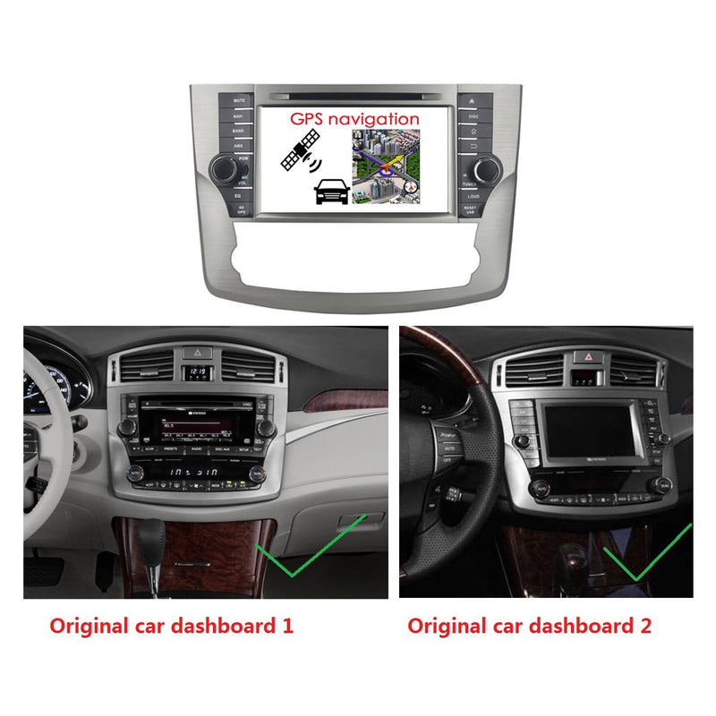 8 inch Touchscreen Android 10 OS Autoradio Stereo for Toyota Avalon 2011 2012 2013 2014. Octa Core 1.5G CPU 32G Flash 4G DDR3 RAM. 2 Din Car Radio DVD Player GPS Navigation 3G 4G WIFI Bluetooth USB/SD DSP Carplay Auto Steering Wheel Control OBD2. Plug and Play cable Double Din Vehicle Multimedia System Head Unit