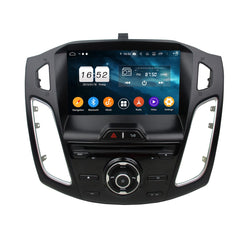 9 inch Car DVD Player GPS Navigation Android 9.0 OS for Ford Focus(2012-2014), Octa Core 1.5G CPU 4G DDR3 RAM 32G Flash, Auto Radio Stereo Bluetooth 4G WIFI OBD2 MirrorLink - foyotech