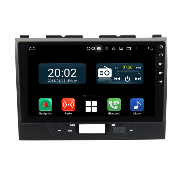 Android 10 1 Din 9 Inch Touchscreen Autoradio Headunit for Suzuki Wagon R 2016 2017 2018 2019 2020, Octa Core 1.5GB CPU 32GB Flash 4GB DDR3 RAM, Auto Radio GPS Navigation 3G 4G WIFI Bluetooth USB DSP Carplay&Auto Steering Wheel Control. 1Din Vehicle Touch Screen Multimedia Video Player System Head Unit.