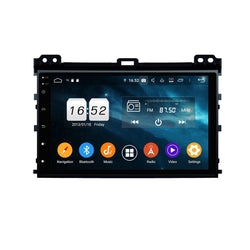 9 Inch Touchscreen Android 9.0 Auto GPS for Toyota Land Cruiser Prado 120(2003-2009), 4GB RAM+32GB ROM, DSP Car Radio Stereo Bluetooth 4G WIFI - foyotech