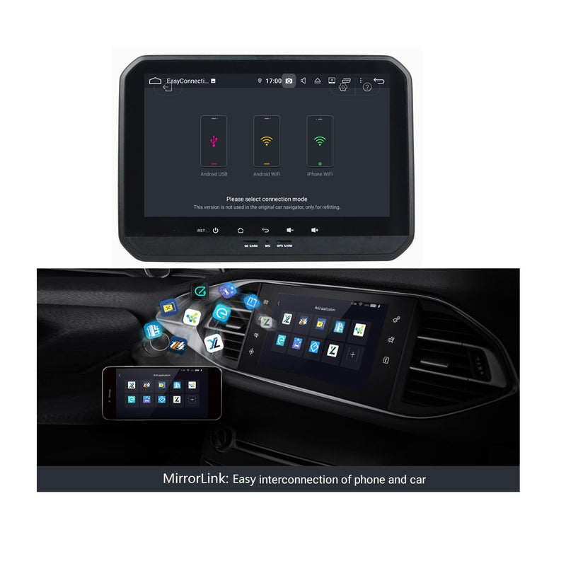 9 Inch Touchscreen Android 9.0 Car Stereo for Suzuki Ignis(2017-2020), DSP Auto Radio GPS Navigation Bluetooth 4G WIFI, 4GB RAM+32GB ROM - foyotech