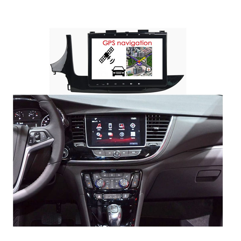 Android 10 1 Din 9 Inch 1024x600 Touchscreen Autoradio Headunit for Buick Encore 2017 2018 2019 2020, Octa Core 1.5GB CPU 32GB Flash 4GB DDR3 RAM, Car Stereo GPS Navigation 3G 4G WIFI Bluetooth USB DSP Carplay&Auto Steering Wheel Control. 1Din Vehicle Touch Screen Multimedia Video Player System Head Unit.