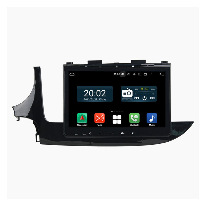 Android 10 1 Din 9 Inch 1024x600 Touchscreen Autoradio Headunit for Opel Mokka 2017 2018 2019 2020, Octa Core 1.5GB CPU 32GB Flash 4GB DDR3 RAM, Car Stereo GPS Navigation 3G 4G WIFI Bluetooth USB DSP Carplay&Auto Steering Wheel Control. 1Din Vehicle Touch Screen Multimedia Video Player System Head Unit.