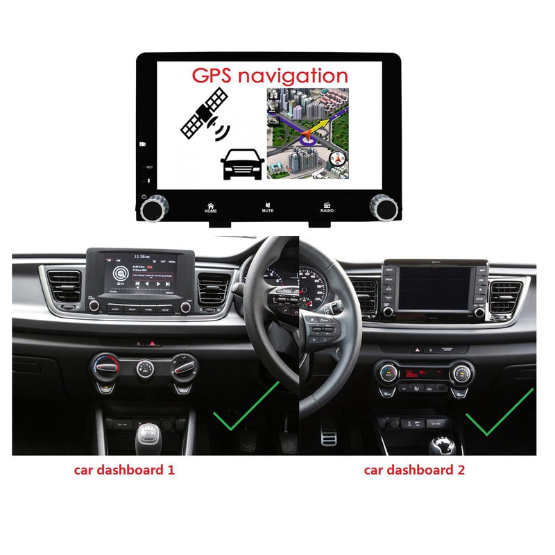 Android 10 Single Din 9 Inch Touchscreen Autoradio Headunit for Kia Rio 2017 2018 2019 2020 in Turkey, Octa Core 1.5GB CPU 32GB Flash 4GB DDR3 RAM, Auto Radio GPS Navigation 4G WIFI Bluetooth USB DSP Carplay&Auto Steering Wheel Control. 1Din Vehicle Touch Screen Multimedia Video Player System Head Unit.