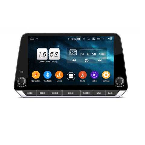 9 Inch Android 9.0 Car Radio for Nissan Teana Sylphy(2019-2020), 4GB RAM+32GB ROM, Touchscreen GPS Navigation DSP Stereo Bluetooth 4G WIFI - foyotech