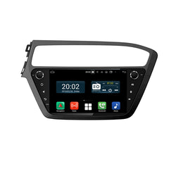 Android 10 Double Din 9 Inch Touchscreen Autoradio Headunit for Hyundai I20 2018 2019 2020 Left Hand Driving, Octa Core 1.5GB CPU 32GB Flash 4GB DDR3 RAM, Auto Radio GPS Navigation 3G 4G WIFI Bluetooth USB DSP Carplay&Auto Steering Wheel Control. 2Din Vehicle Touch Screen Multimedia Video Player System Head Unit.