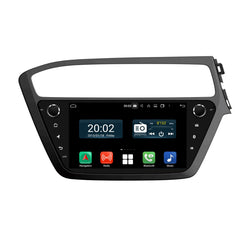 Android 10 Double Din 9 Inch Touchscreen Autoradio Headunit for Hyundai I20 2018 2019 2020 Right Hand Driving, Octa Core 1.5GB CPU 32GB Flash 4GB DDR3 RAM, Auto Radio GPS Navigation 3G 4G WIFI Bluetooth USB DSP Carplay&Auto Steering Wheel Control. 2Din Vehicle Touch Screen Multimedia Video Player System Head Unit.