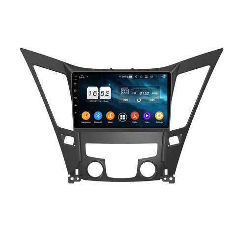 Android 9.0 Car Radio for Hyundai Sonata(2011-2013), 4GB RAM+32GB ROM, 9 Inch Touchscreen GPS Navigation DSP Stereo Bluetooth 4G WIFI - foyotech