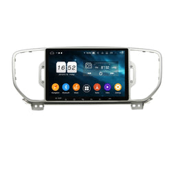 Android 9.0 OS Car GPS Headunit for Kia Sportage(2016-2019), 9 Inch Touchscreen DSP Auto Radio Stereo Bluetooth 4G WIFI, 4GB RAM+32GB ROM - foyotech