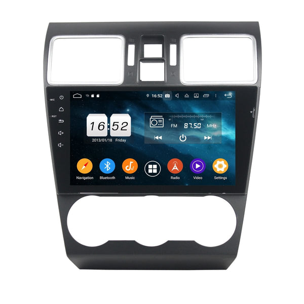 9 Inch Touchscreen Android 9.0 Auto Stereo for Subaru Forester XV(2015-2020), DSP Car Radio GPS Navigation Bluetooth 4G WIFI, 4GB RAM+32GB ROM - foyotech