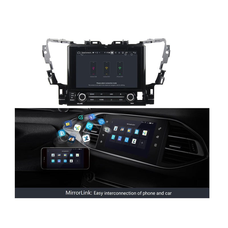 Android 9.0 OS 9 inch Touchscreen Car Stereo GPS Navigation Headunit for Toyota Alphard(2015-2020), Octa Core 1.5G CPU 4G DDR3 RAM 32G Flash, Auto Radio DVD Player Bluetooth 4G WIFI OBDII MirrorLink - foyotech