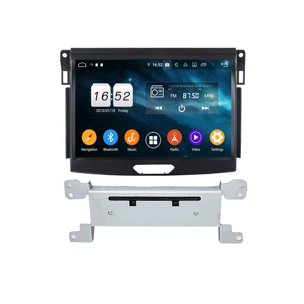 Touchscreen DSP Android 9.0 Autoradio for Ford Everest(2015-2020), 4GB RAM+32GB ROM, 9 Inch GPS Navigation Stereo Bluetooth 4G WIFI Headunit - foyotech