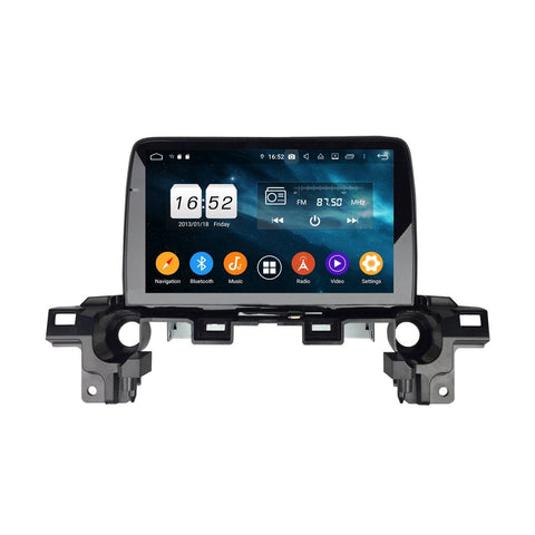9 Inch Touchscreen Android 9.0 Car Stereo for Mazda CX-5(2017-2020), DSP Auto Radio GPS Navigation Bluetooth 4G WIFI, 4GB RAM+32GB ROM - foyotech