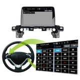 Android 10 1 Din 9 Inch 1024x600 Touchscreen Autoradio Headunit for Mazda CX5 2017 2018 2019 2020, Octa Core 1.5GB CPU 32GB Flash 4GB DDR3 RAM, Auto Radio GPS Navigation 3G 4G WIFI Bluetooth USB DSP Carplay&Auto Steering Wheel Control. 1Din Vehicle Touch Screen Multimedia Video Player System Head Unit.