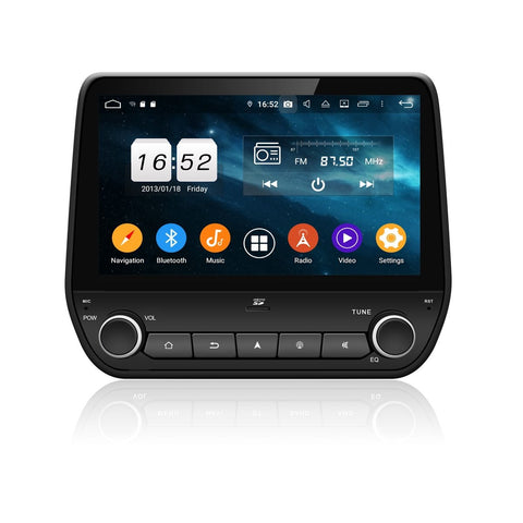Touchscreen Android 9.0 Autoradio for Ford Ecosport/Fiesta(2017-2020), 4GB RAM+32GB ROM, 9 Inch DSP GPS Navigation Stereo Bluetooth 4G WIFI Headunit - foyotech