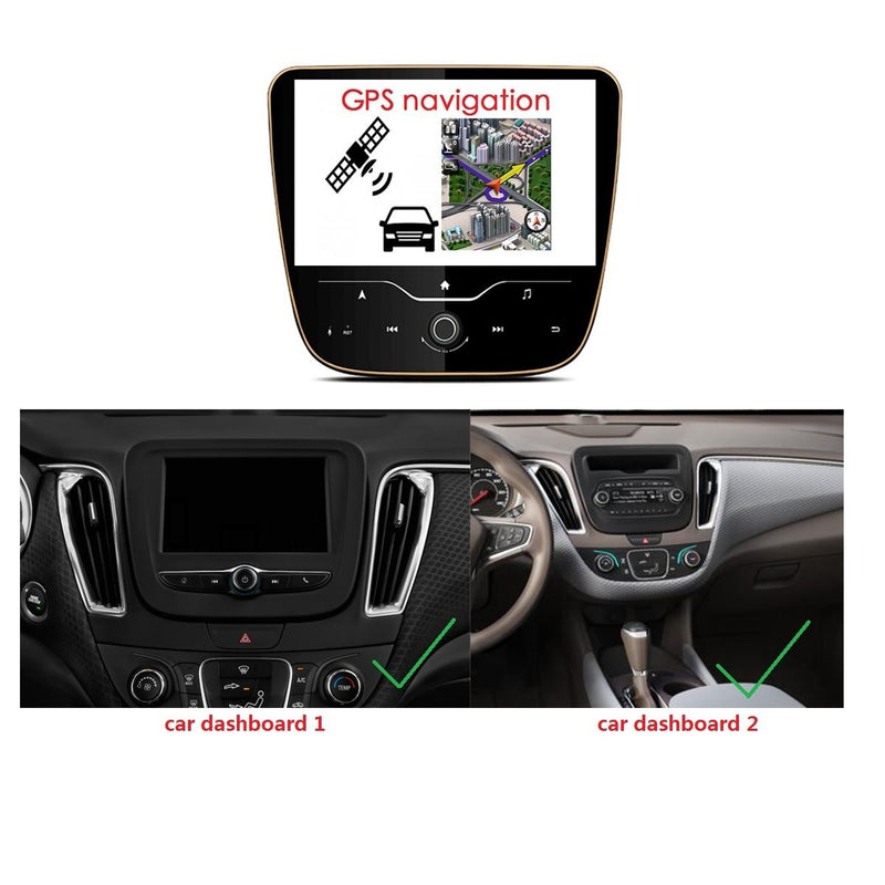 9 Inch Touchscreen Android 9.0 Car Stereo for Chevrolet Malibu(2017-2020), 4GB RAM+32GB ROM, DSP Auto Radio GPS Navigation Bluetooth 4G WIFI - foyotech