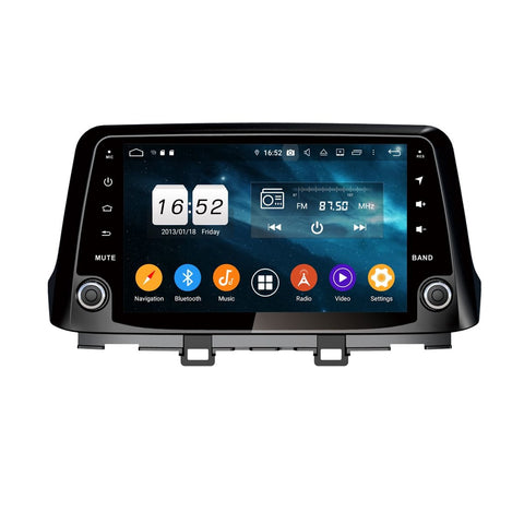 9 Inch Android 9.0 Car GPS Navigation Radio for Hyundai Kona/Kauai(2017-2020), Touchscreen DSP Auto Stereo Bluetooth 4G WIFI, 4GB RAM+32GB ROM - foyotech