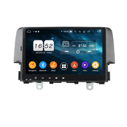 9 Inch Touchscreen Car Radio for Honda Civic(2016-2019), 4GB RAM+32GB ROM, Android 9.0 DSP GPS Navigation Stereo Bluetooth 4G WIFI - foyotech
