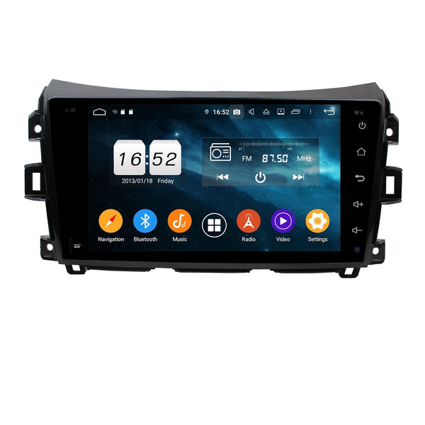 Android 9.0 DSP Car Radio for Renault Alaskan(2016-2020) RHD, 9 Inch Touchscreen Auto Stereo GPS Navigation Bluetooth 4G WIFI, 4GB RAM+32GB ROM - foyotech